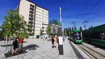 Die Tramlinie 3 der Basler Verkehrs-Betriebe wird auf französischem Boden weiterhin beschützt.