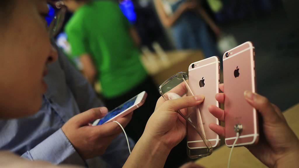 Patentproblem in Peking für Apples iPhone 6