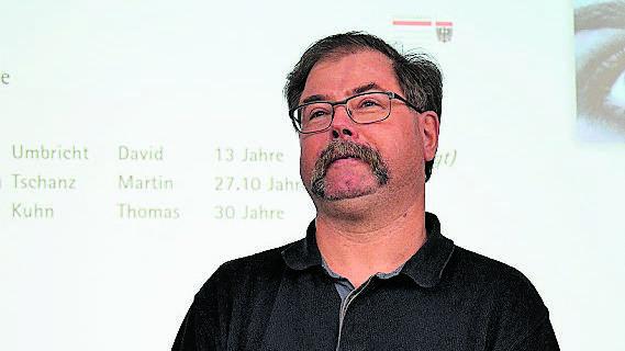 Thomas Kuhn wurde verabschiedet.
