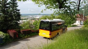 Der Ortsbus unterwegs auf der Schlossstrasse: So soll es weiterhin bleiben.