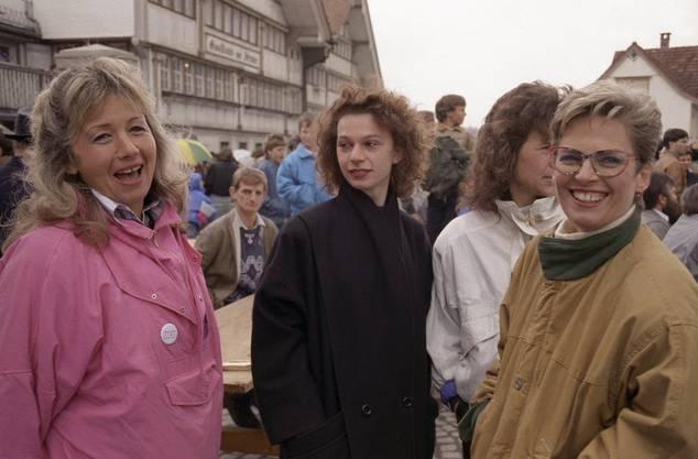 Für die Landesregierung war lange klar: Frauen zählen nicht dazu, sie sind keine Schweizer im Sinne der Verfassung.