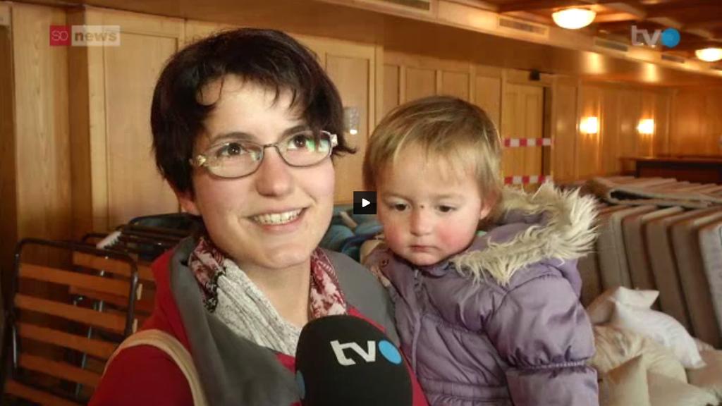 Traurig über den Abbruch des Berghotels Schwägalp: Maria Raschle aus Bächli.