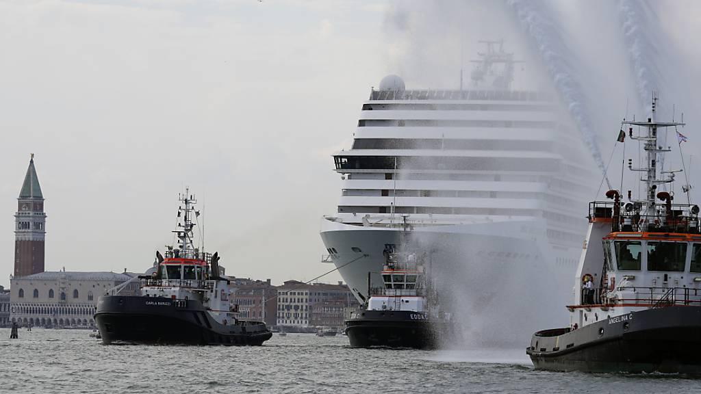 Venedig steuert wegen Kreuzfahrtriesen auf Rote Liste der Unesco zu