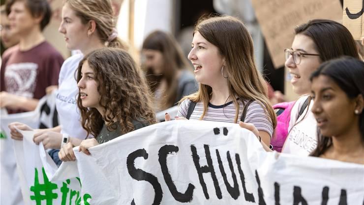 Die Klimabewegung politisiert aktuell viele Junge.Chris Iseli
