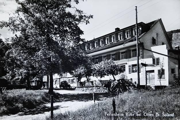 Die Familie Soland baute das Bauernhaus in den 1930er-Jahren zu einem Ferienheim aus (oberster Stock).