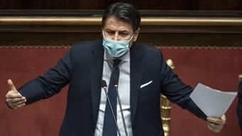 Ist nach dem Amt des Premiers für Giuseppe Conte auch vor dem Amt des Premiers? Er hofft auf einen neuen Auftrag.