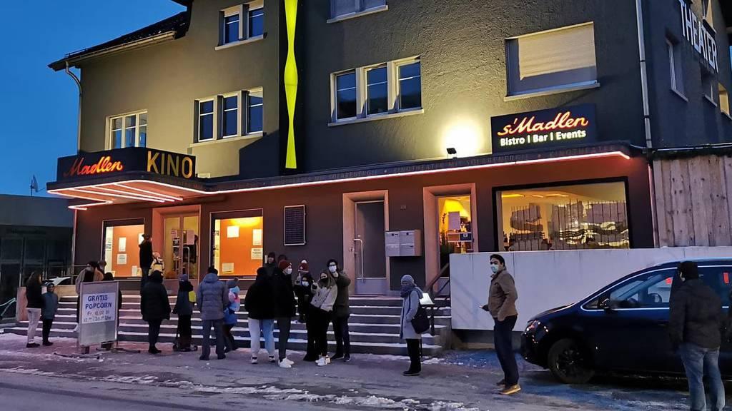 Im Rheintaler Kino Madlen gibt's nochmals Gratis-Popcorn