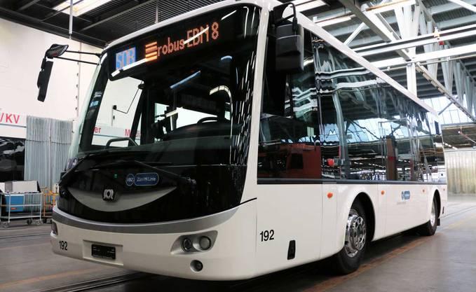 So sieht der E-Bus aus.