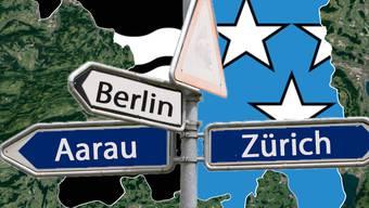 Jeder vierte Zuzüger im Aargau kommt aus Zürich. Die Zuwanderung aus Deutschland ist rückläufig.