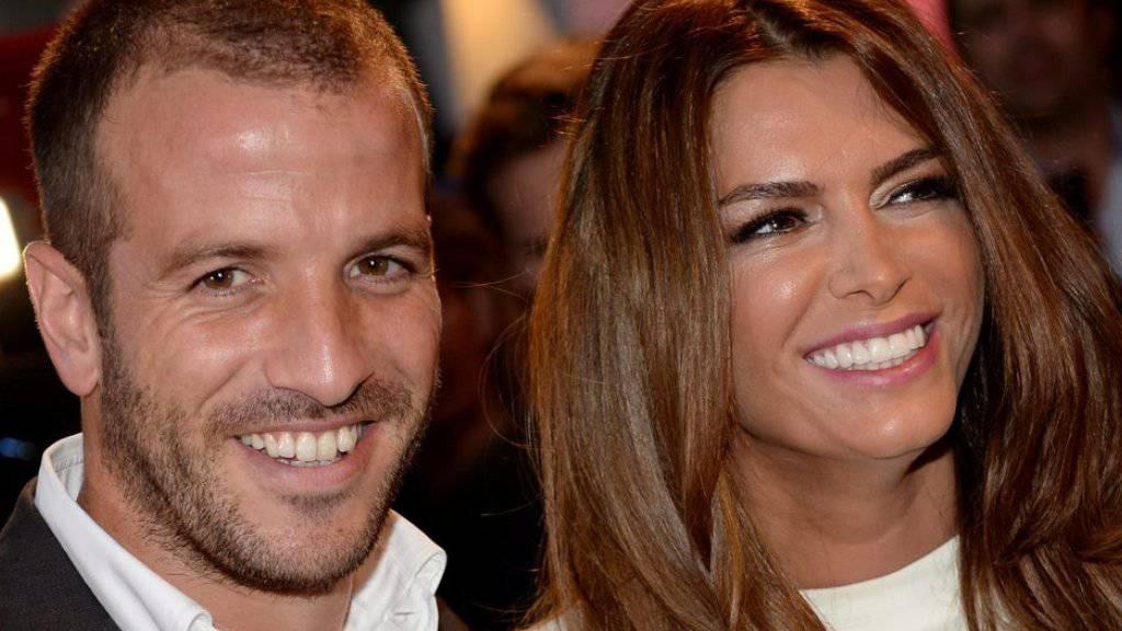 Neues vom Ex-Paar Rafael van der Vaart und Sabia Boulahrouz: Kurz nachdem sie ihre Schwangerschaft in den Medien endlich beweisen konnte, soll er sich per SMS zu dem Baby bekannt haben (Archiv).
