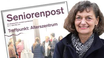 Edith Saner, Präsidentin Verwaltungsrat Alterszentrum: «Wir werden die Seniorenpost ab 2019 allen Aktionärsgemeinden ohne Kosten zustellen.»