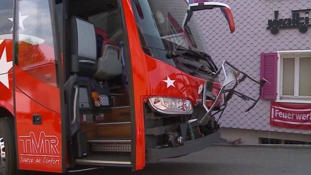 Car-Unfall FC Sion