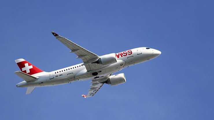 Swiss-Flieger sollen künftig pünktlicher abheben. Mit einer Fülle von Massnahmen feilt die Fluggesellschaft an diesem Ziel. (Symbol)