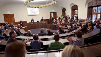Tag der offenen Tür im Kantonsratssaal