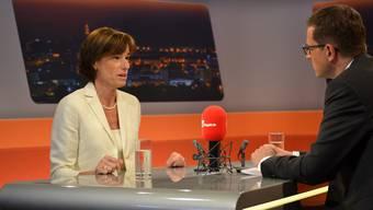 Ruth Humbel zu Gast im Talk Täglich bei az-Chefredaktor Christian Dorer