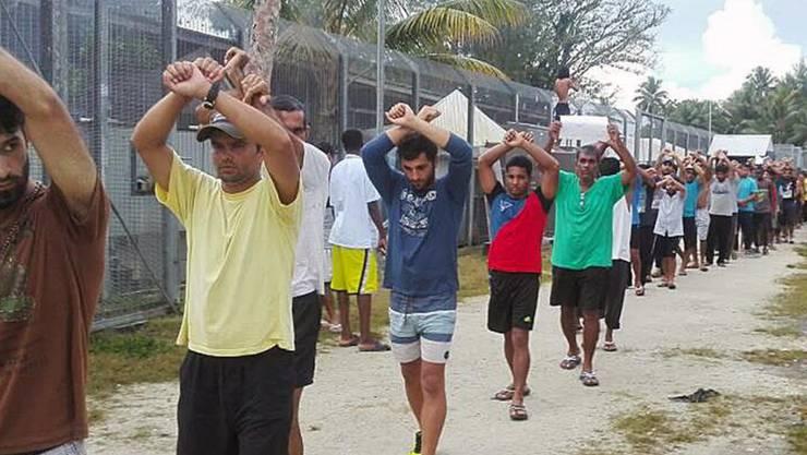 Die rund 400 Bewohner des Flüchtlingslagers auf der Insel Manus in Papua-Neuguinea werden aufgerufen, das Lager umgehend zu verlassen. (Archivbild)