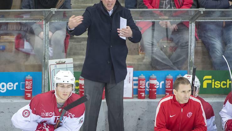 Lausannes Interimstrainer John Fust feierte mit seinem Team einen wichtigen Sieg
