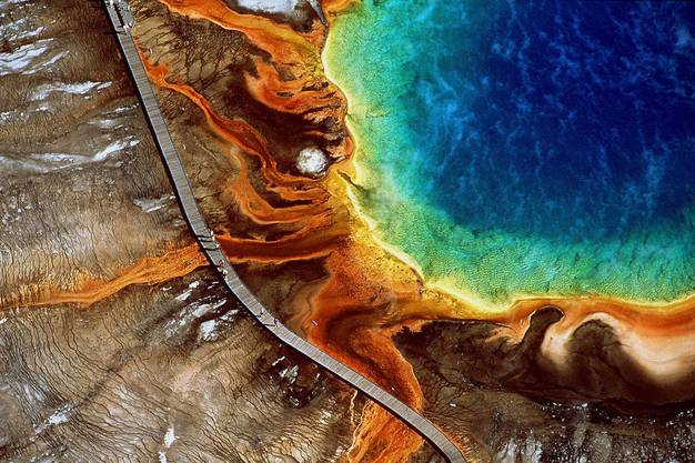 Yellowstone National Park, USA.