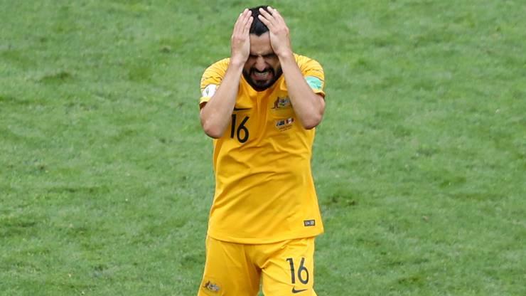 Aziz Behich und seine Australier kommen einfach nicht zu einem Tor.