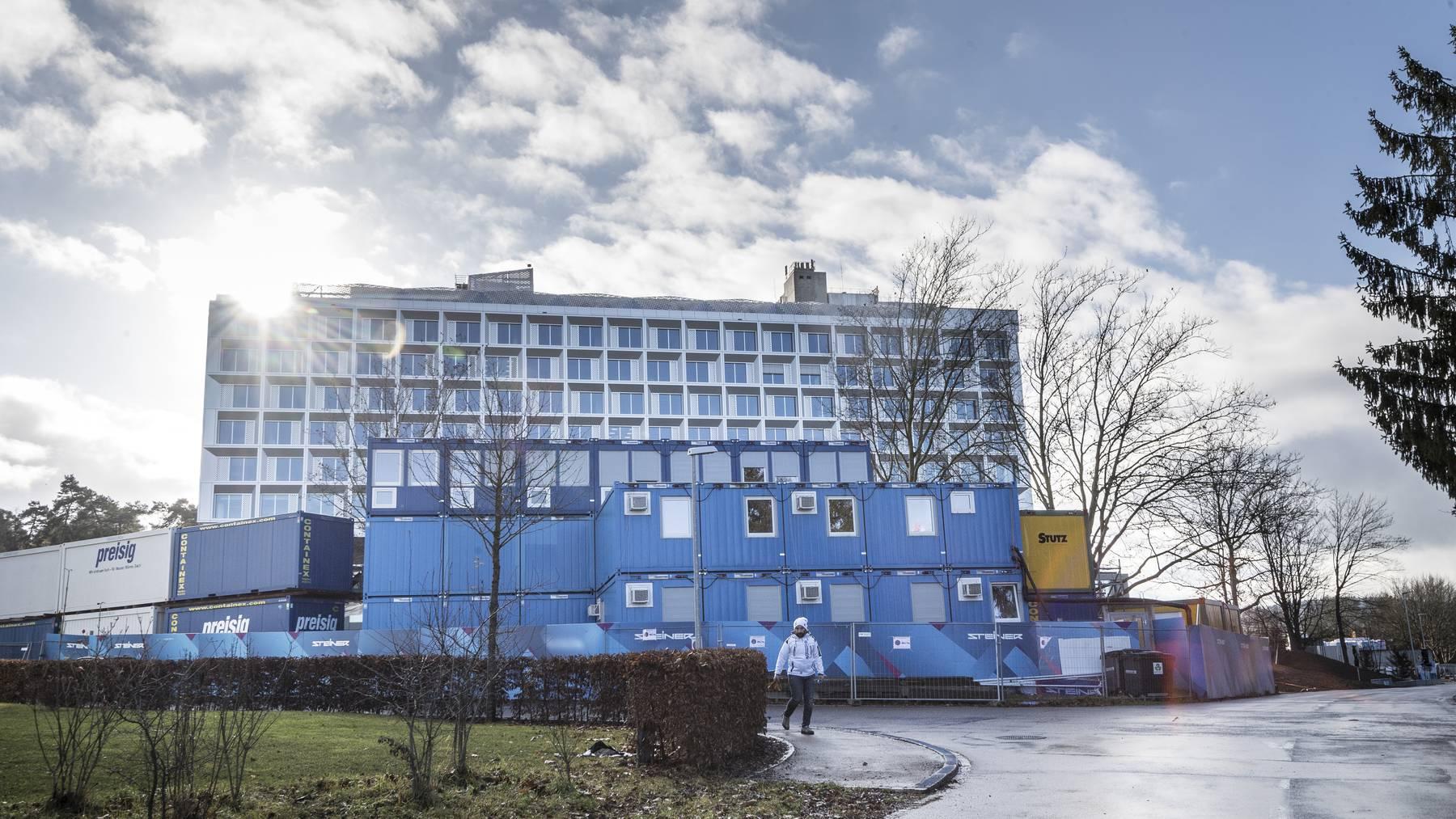 Besuche sind am Kantonsspital in Frauenfeld nur noch in absoluten Ausnahmen möglich.