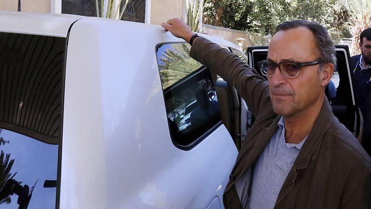 Eine vom ehemaligen niederländischen General Patrick Cammaert (im Bild) angeführtes Team der Uno ist in der Hafenstadt Hodeida angekommen, um die Waffenruhe zu überwachen.