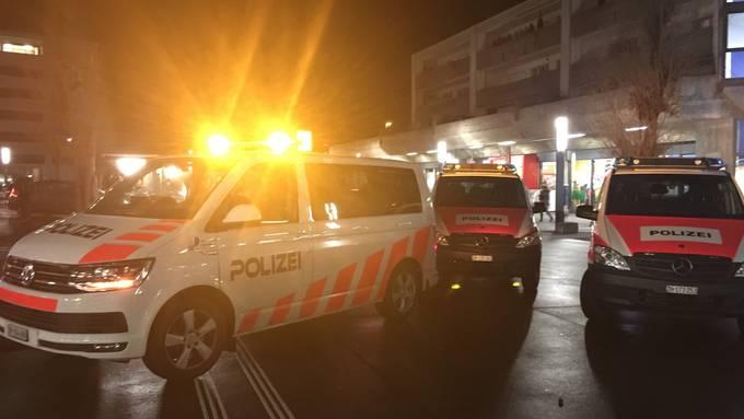Polizeieinsatz am Bahnhof Dietikon am 17.01.2019