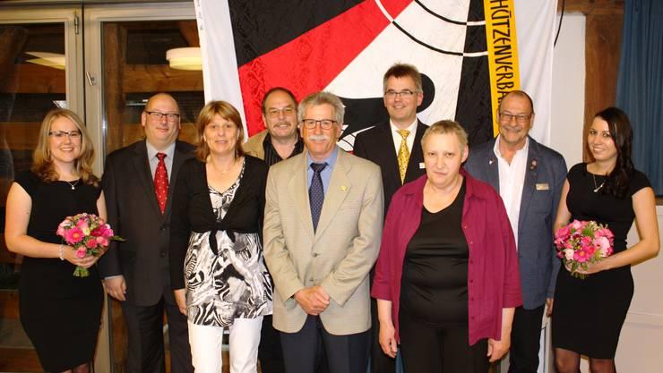 SVBB-Vorstand mit den Ehrendamen