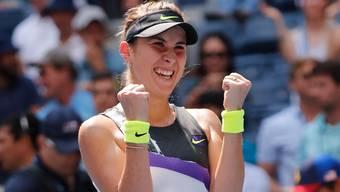 Belinda Bencic steht in den Halbfinals der US Open (Bild: Keystone).