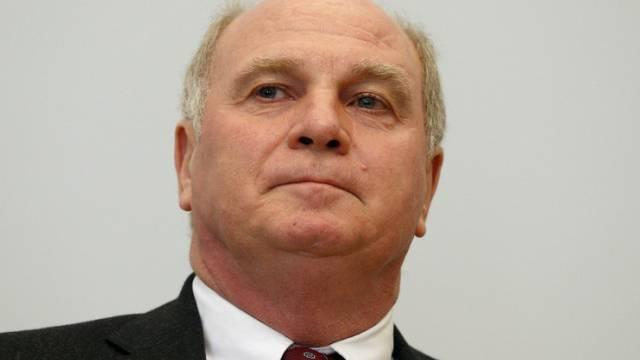 Ex-Präsident des FC Bayern, Uli Hoeness (Archiv)