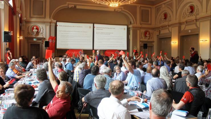 Die Vorlage Suisse Alpine 2020 stiess im Stadttheater nicht auf einhellige Zustimmung.