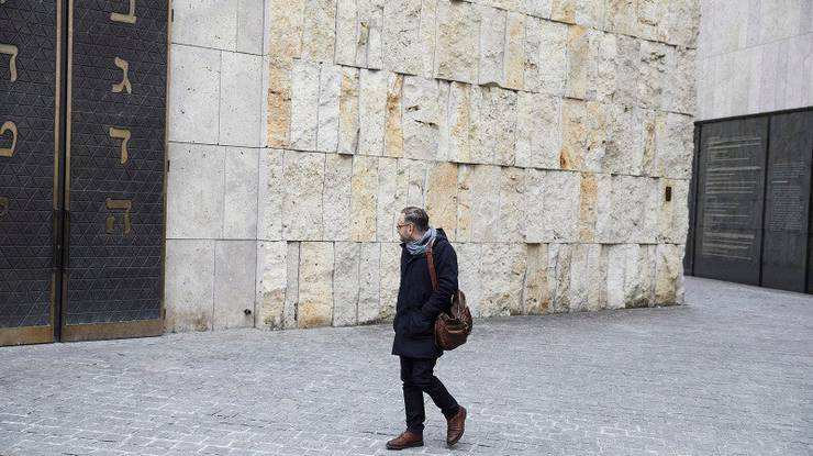 Symbol für den Wandel des totalitären ins humanistische München der Gegenwart: Die neue Synagoge im Herzen der Innenstadt.