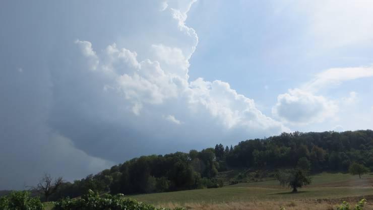 Als die Wolken von Liestal kamen.