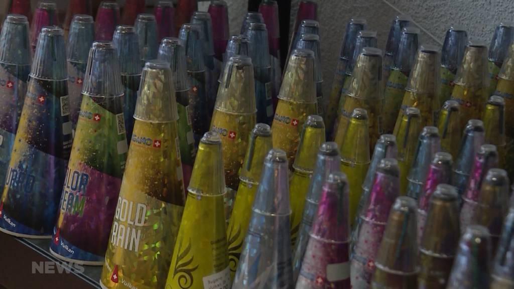 Petition gegen Feuerwerk in der Berner Altstadt