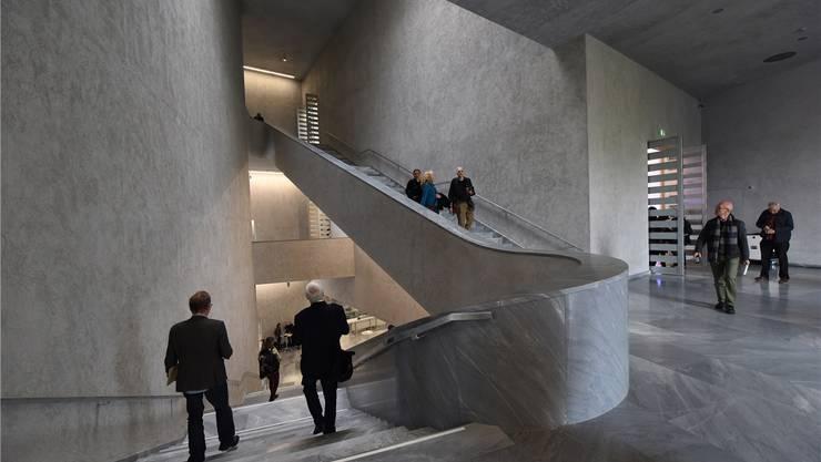 Dass der Betrieb des Erweiterungsbaus des Kunstmuseums unterfinanziert ist, wussten alle, die es wissen wollten. Archiv