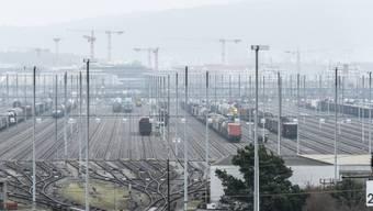 Freie Kapazitäten: Rangierbahnhof Limmattal (Archiv)