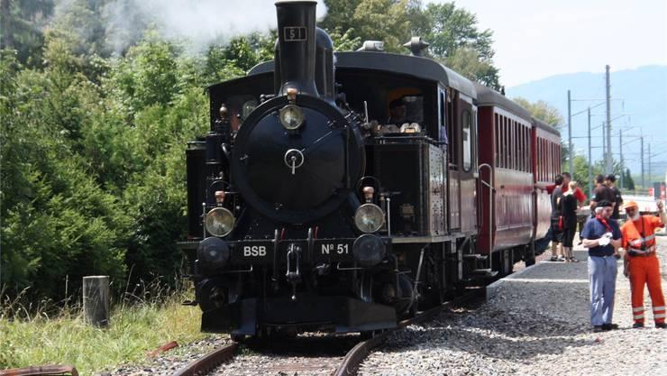Die Dampflokfahrten zwischen Solothurn und Büren werden spätestens ab Ende Jahr nicht mehr durchgeführt.