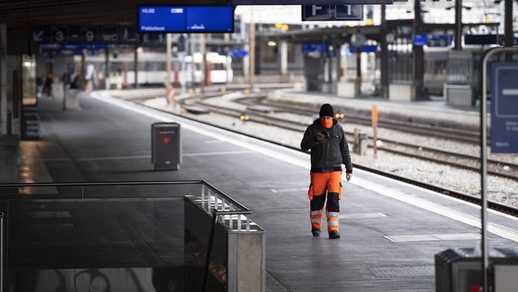 Der öffentliche Verkehr in der Schweiz ist beinahe zum Erliegen gekommen: Insgesamt dürfte die ÖV-Branche in jedem Monat, in dem die aktuellen Regelungen gelten, über 150 Millionen Franken verlieren.
