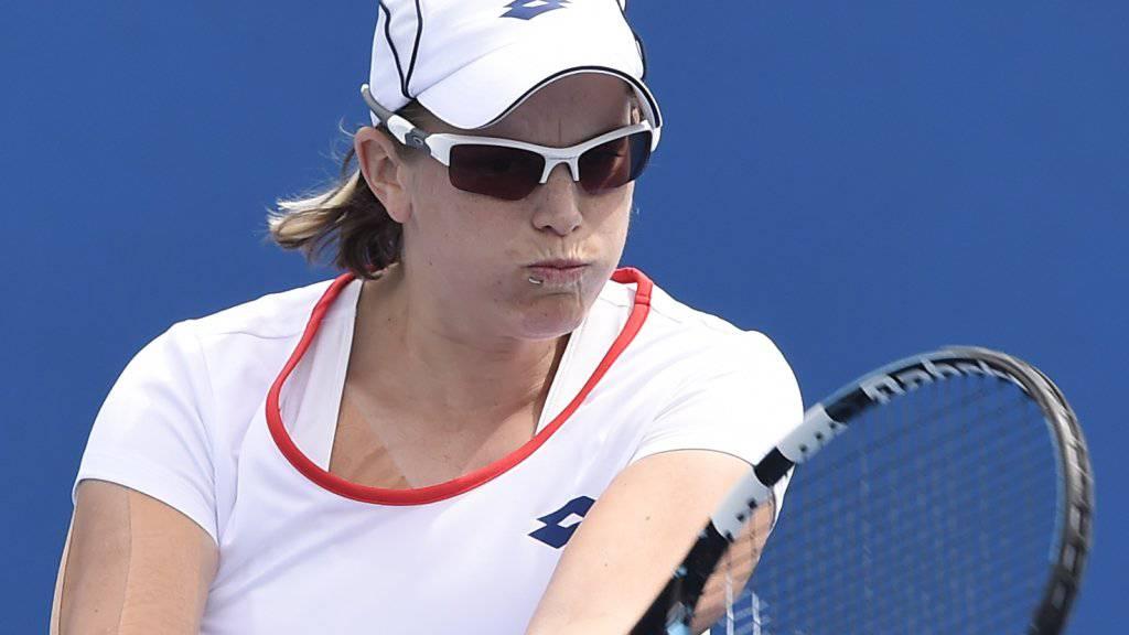 In Rio chancenlos: Romina Oprandi verlor in der 1. Runde deutlich