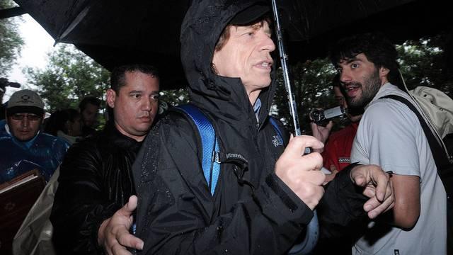 Hat die Inka-Festung Machu Picchu in Peru besucht: Rolling-Stones-Sänger Mick Jagger