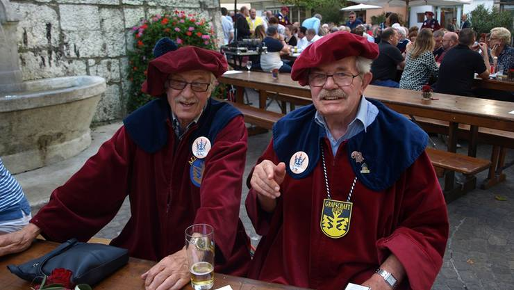 Zwei Ur-Banausen: Peter Christ (links) und Sigi Meier.