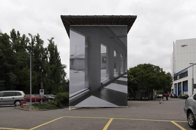 Installation von Renate Buser beim Kunsthaus Basel (2007)