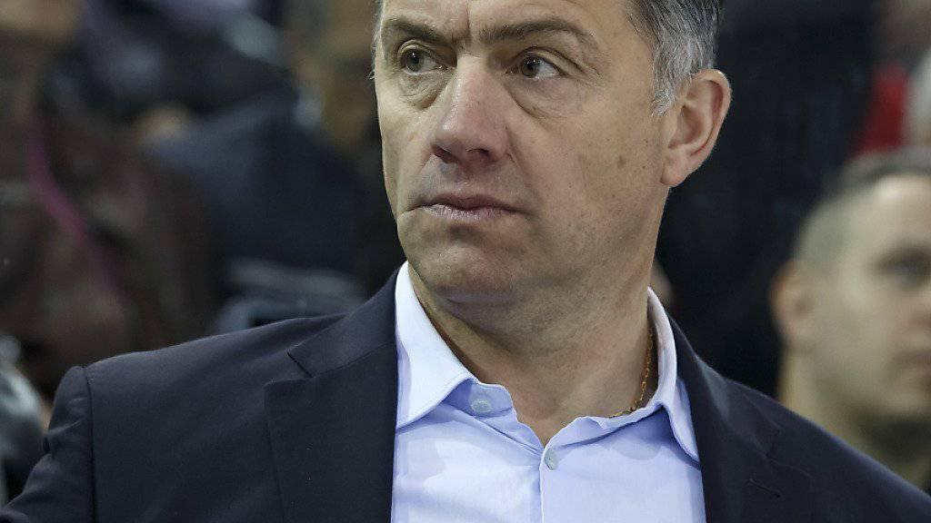 Philippe Bozon, die frühere Spieler-Legende von Servette und einstiger Trainer von Lugano, steigt als Headcoach mit Frankreich ab
