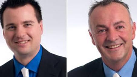 Schibli (links) und Woodtli treten im Herbst nicht mehr als Gemeinderäte an.