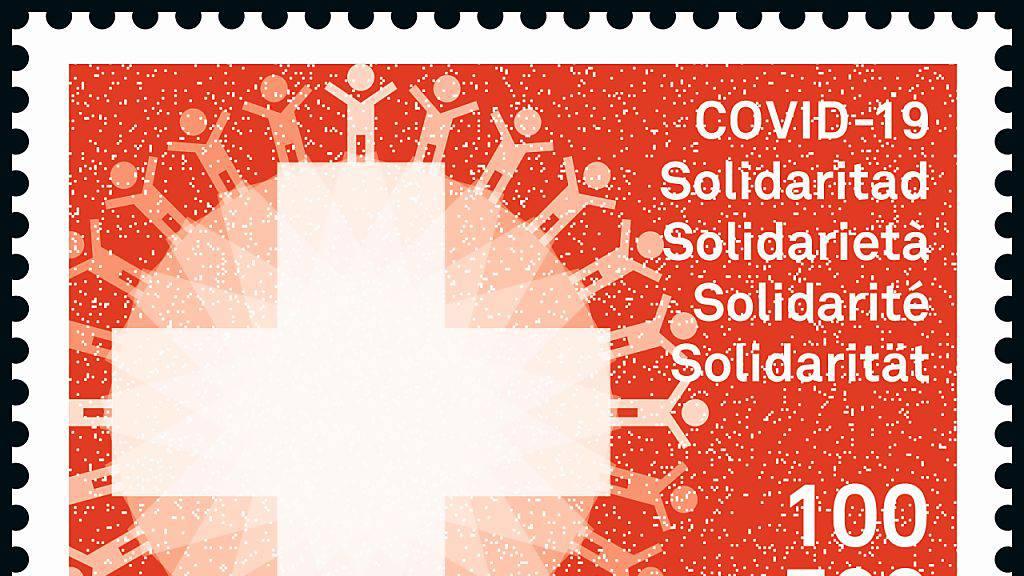 Wegen des Coronavirus gibt's eine Solidaritätsmarke
