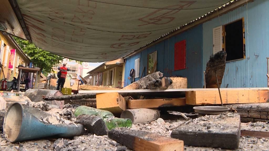 Polizei räumt Juch-Areal: Besetzer waren bereits weg