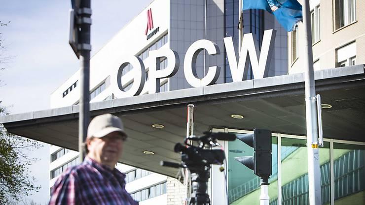 Das Hauptquartier der Organisation für das Verbot chemischer Waffen (OPCW) in Den Haag.