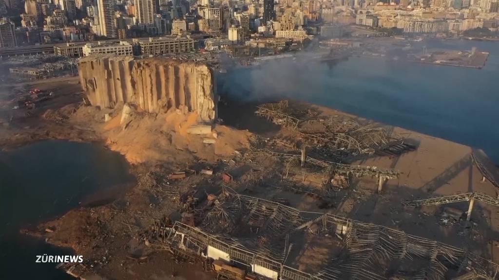 Enorme Explosion erschüttert Beirut