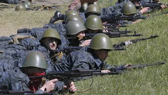 Als Reaktion auf den Krim-Konflikt rief die Ukraine 2014 eine Nationalgarde ins Leben.