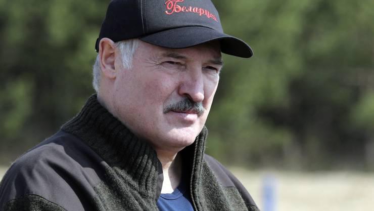 ARCHIV - Der Präsident von Belarus, Alexander Lukaschenko. Foto: Maxim Guchek/POOL BelTa/AP/dpa