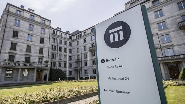 Der Rückversicherer Swiss Re hat erneut hohe Kosten für Katastrophen schultern müssen. (Archivbild)
